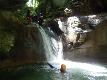 canyon du furon dans le vercors