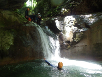 canyon du furon grenoble isere lyon vercors