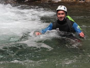 canyon des moules marinieres dans le vercors
