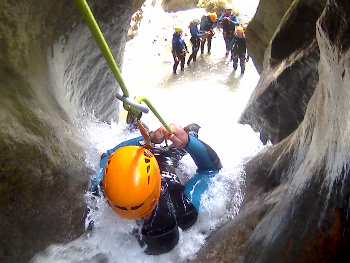 canyoning  moule mariniere grenoble vercors