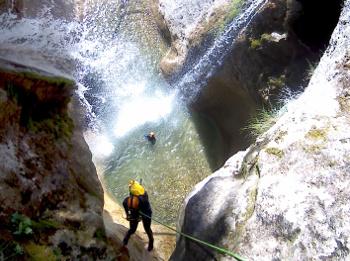 canyon de l'alloix chartreuse