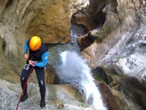 canyon des ecouges partie hautes